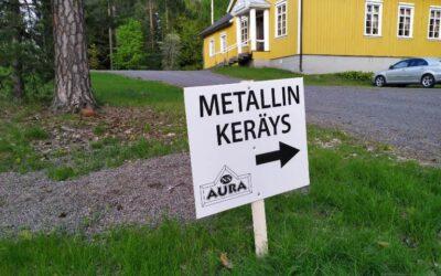 Metallin- ja paperinkeräys!